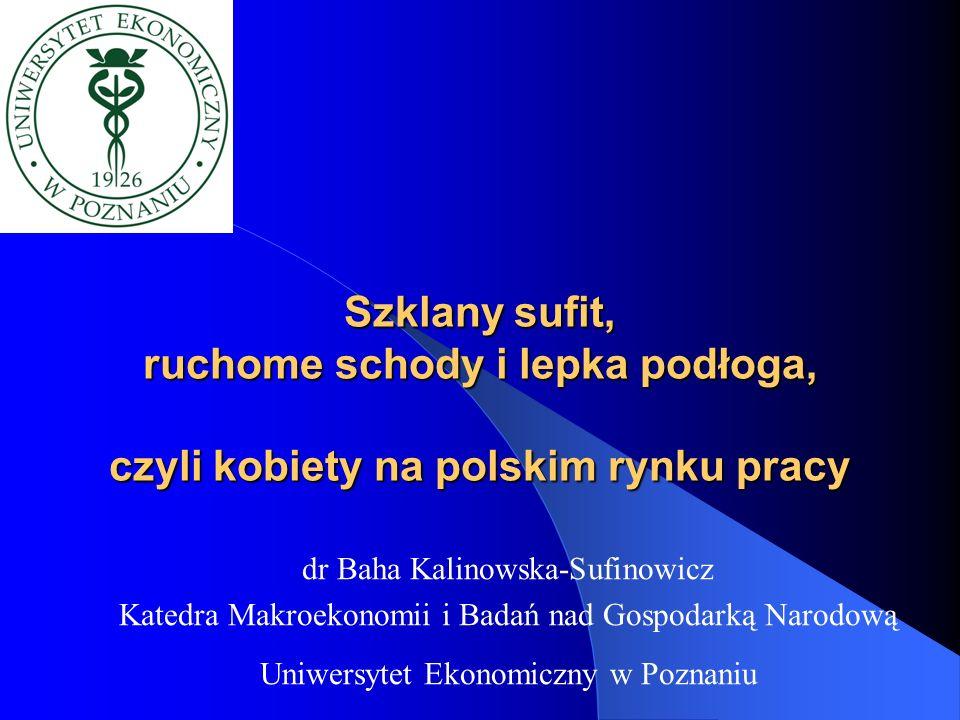 Plan prezentacji 1.Status prawny kobiet w Polsce 2.