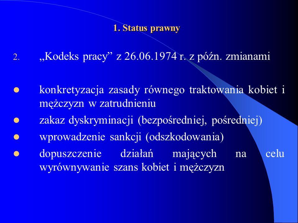 Źródło: Kobiety w społeczeństwie – równouprawnienie czy dyskryminacja, komunikat z badań, CBOS, Warszawa 2006, s.1.