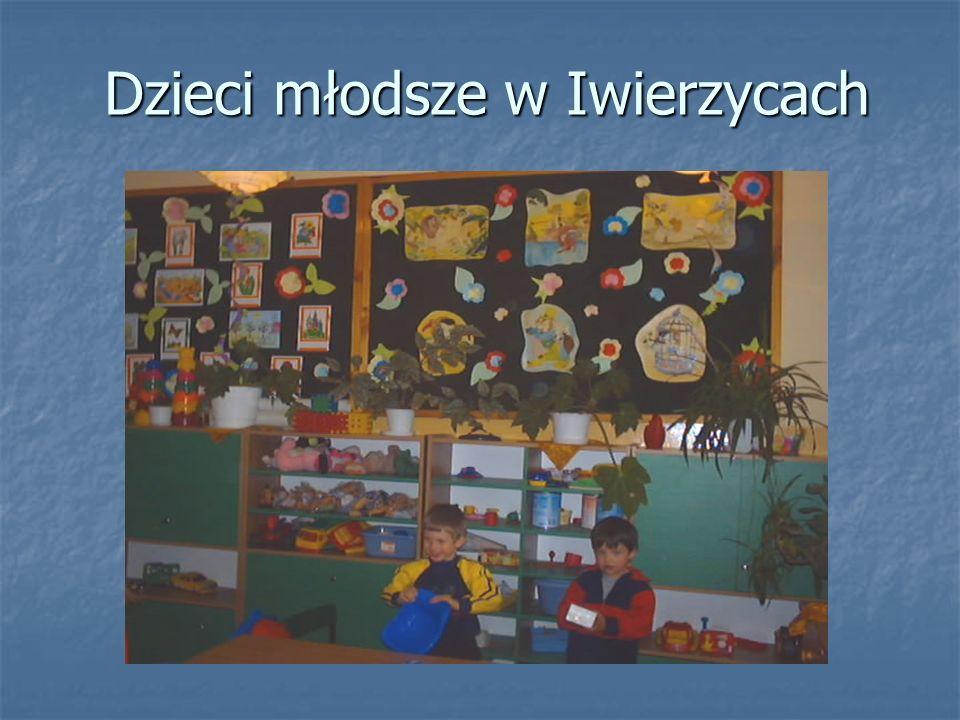 Dzieci młodsze w Iwierzycach