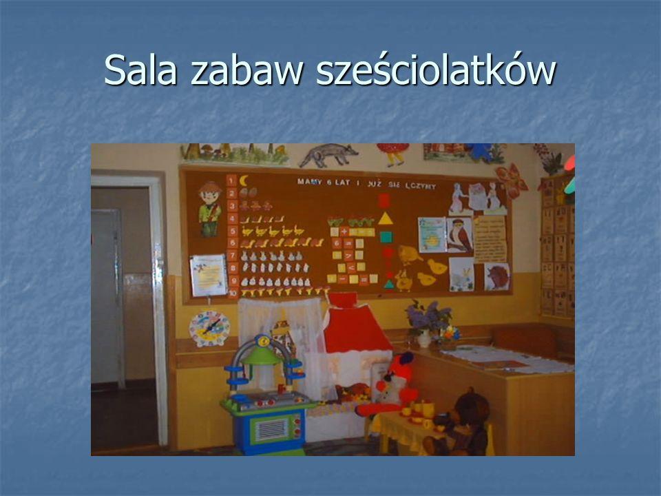 Sala zabaw sześciolatków