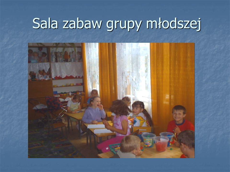Sala zabaw grupy młodszej