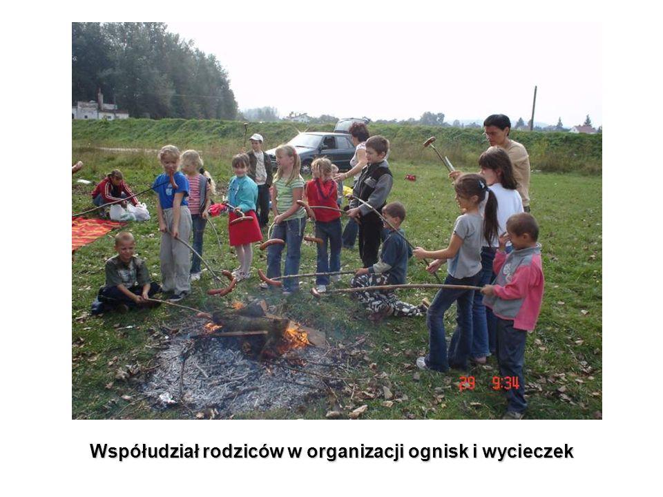 Współudział rodziców w organizacji ognisk i wycieczek