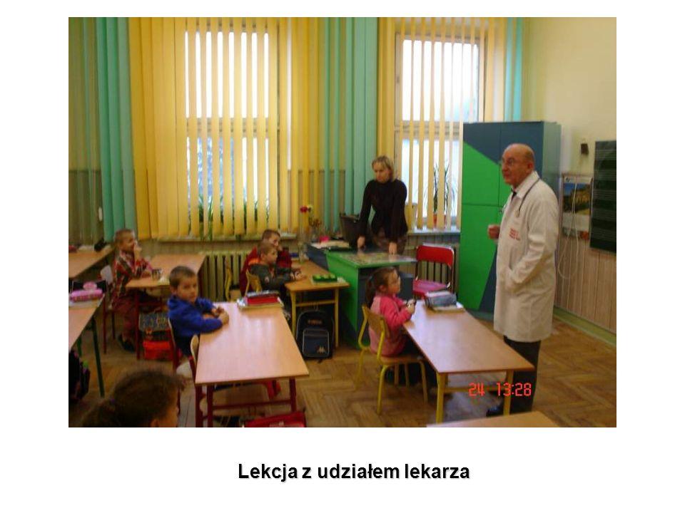 Lekcja z udziałem lekarza