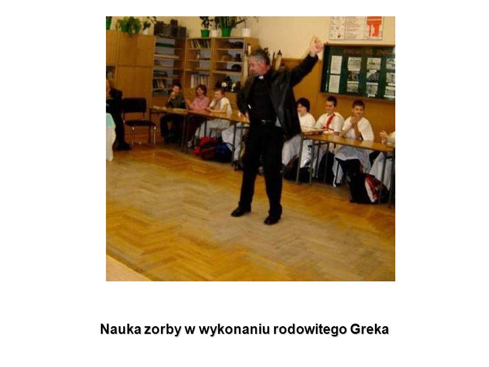 Nauka zorby w wykonaniu rodowitego Greka