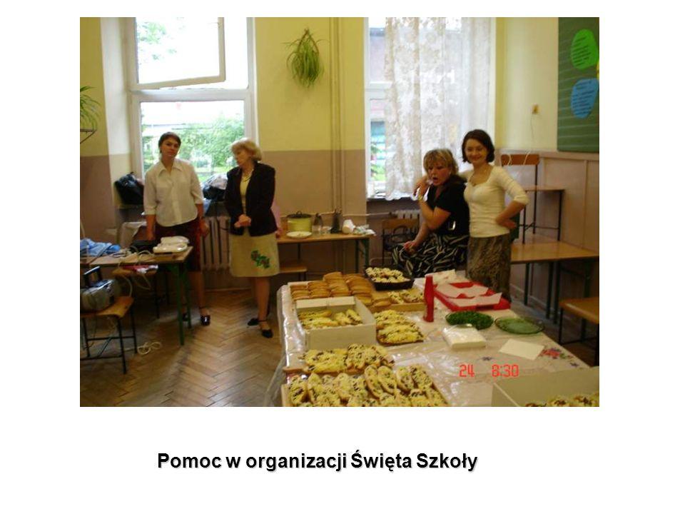 Pomoc w organizacji Święta Szkoły