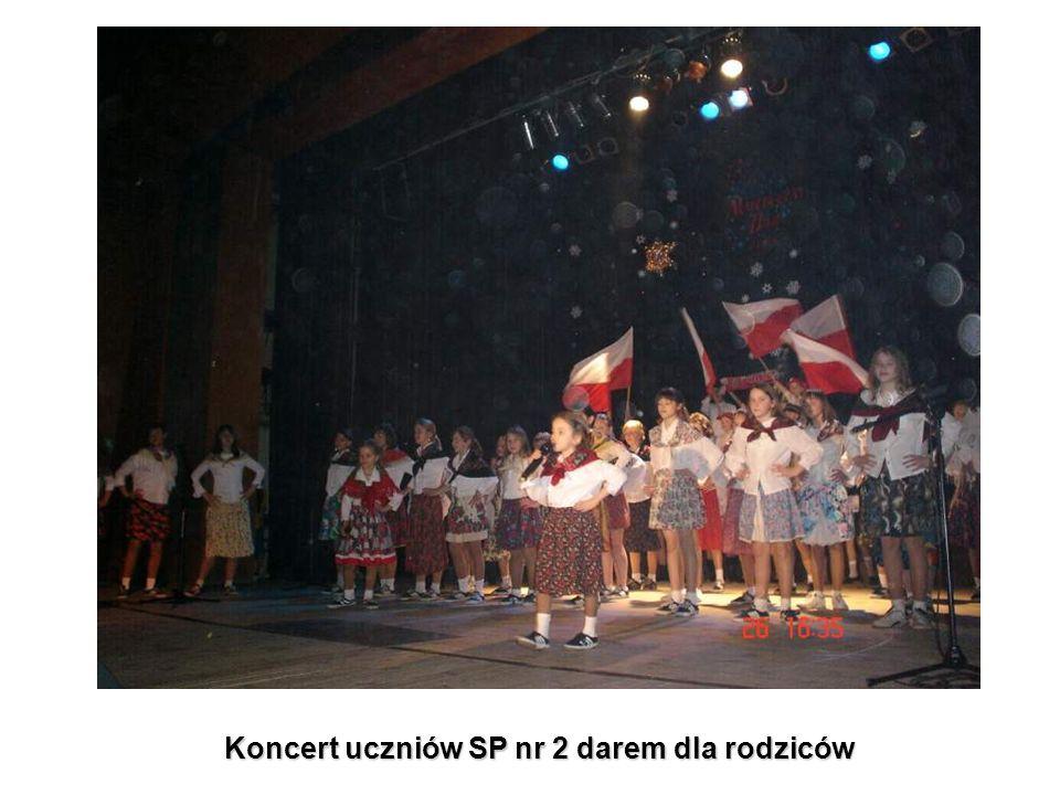 Koncert uczniów SP nr 2 darem dla rodziców