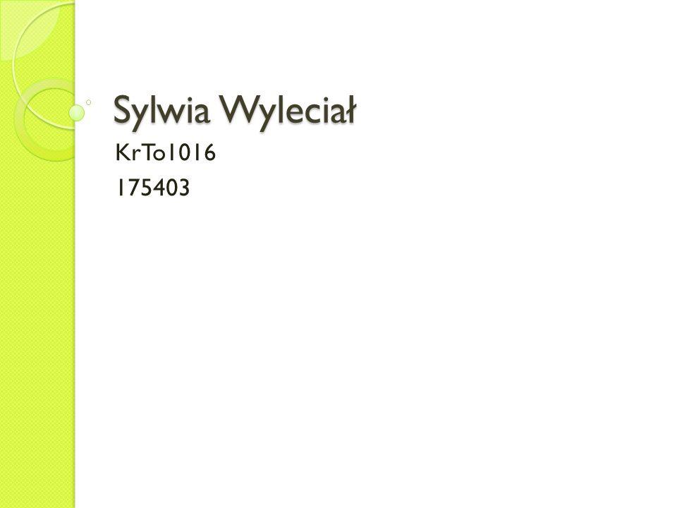 Sylwia Wyleciał KrTo1016 175403