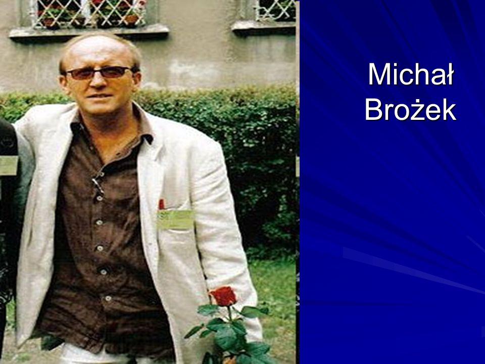 Ćwiczenie 1 Nazywam się Michał Brożek.Urodziłem się 8 sierpnia 1989 roku w Krakowie.