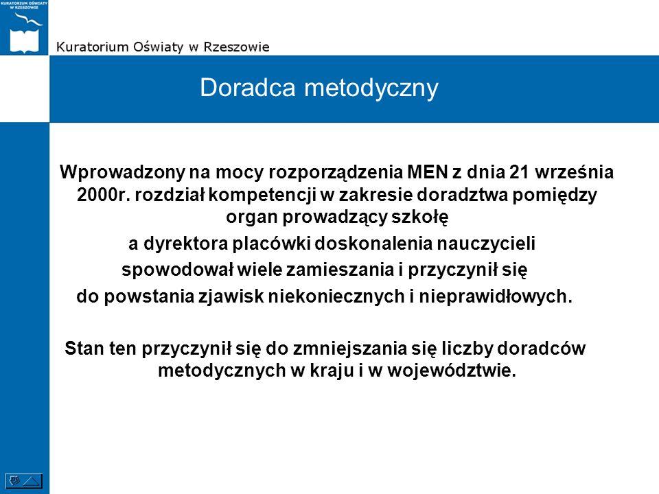 Wprowadzony na mocy rozporządzenia MEN z dnia 21 września 2000r.