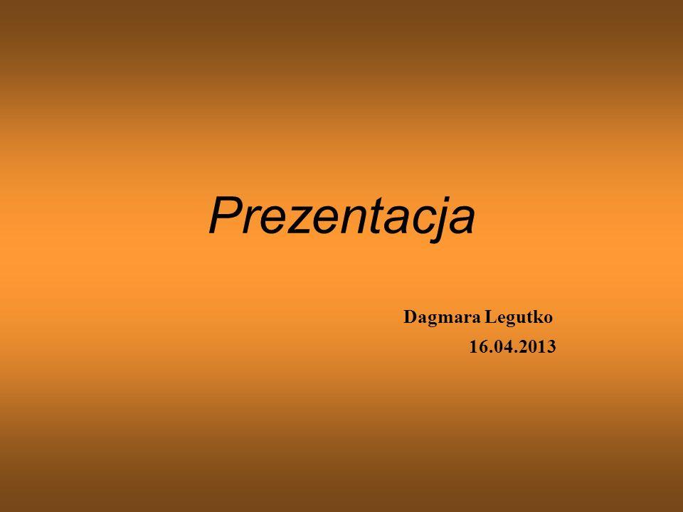 Ćwiczenie 1 - Życiorys ZYCIORYS Mam na imię Dagmara Paulina Gabriela Legutko, mam lat 19 i mieszkam w Krakowie na osiedlu Skotniki razem z rodzicami w domu jednorodzinnym.