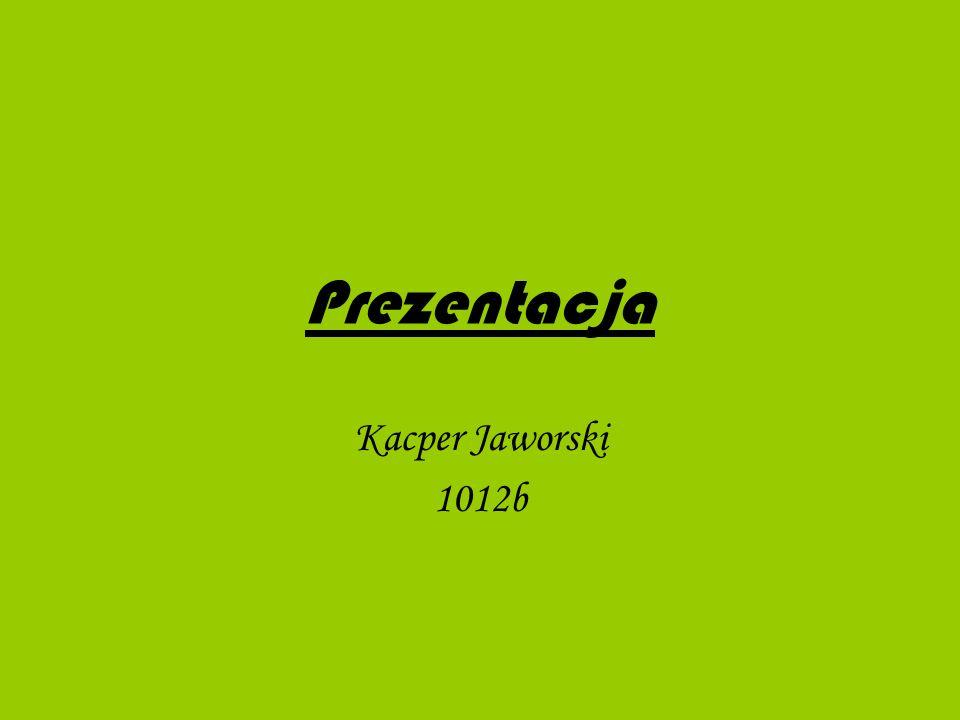Prezentacja Kacper Jaworski 1012b