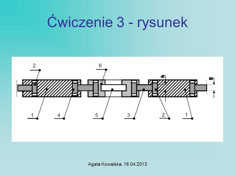 Agata Kowalska, 16.04.2013 Ćwiczenie 4 – arkusz kalkulacyjny