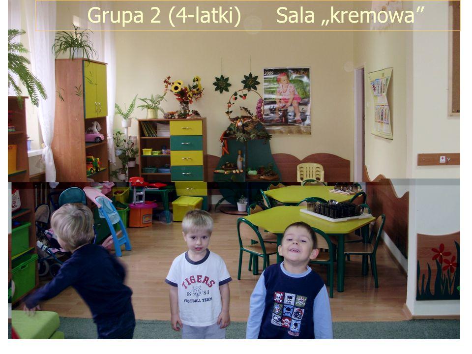 Grupa 2 (4-latki) Sala kremowa