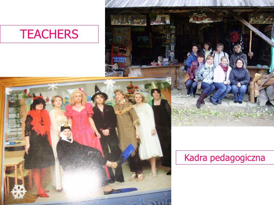 Kadra pedagogiczna TEACHERS