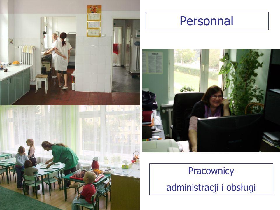 Pracownicy administracji i obsługi Personnal