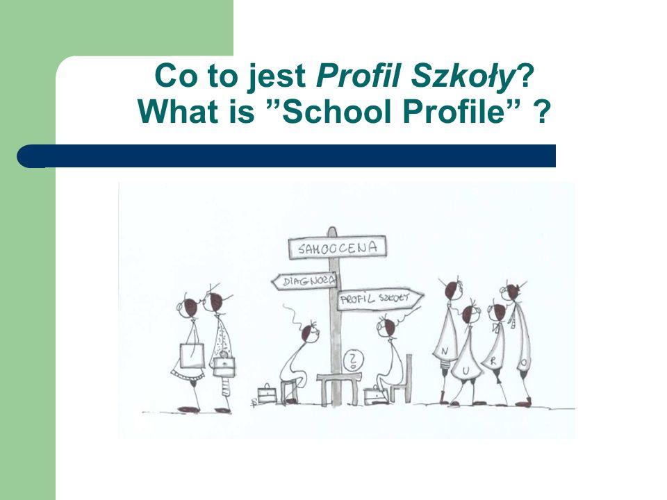 What is the School Profile method.
