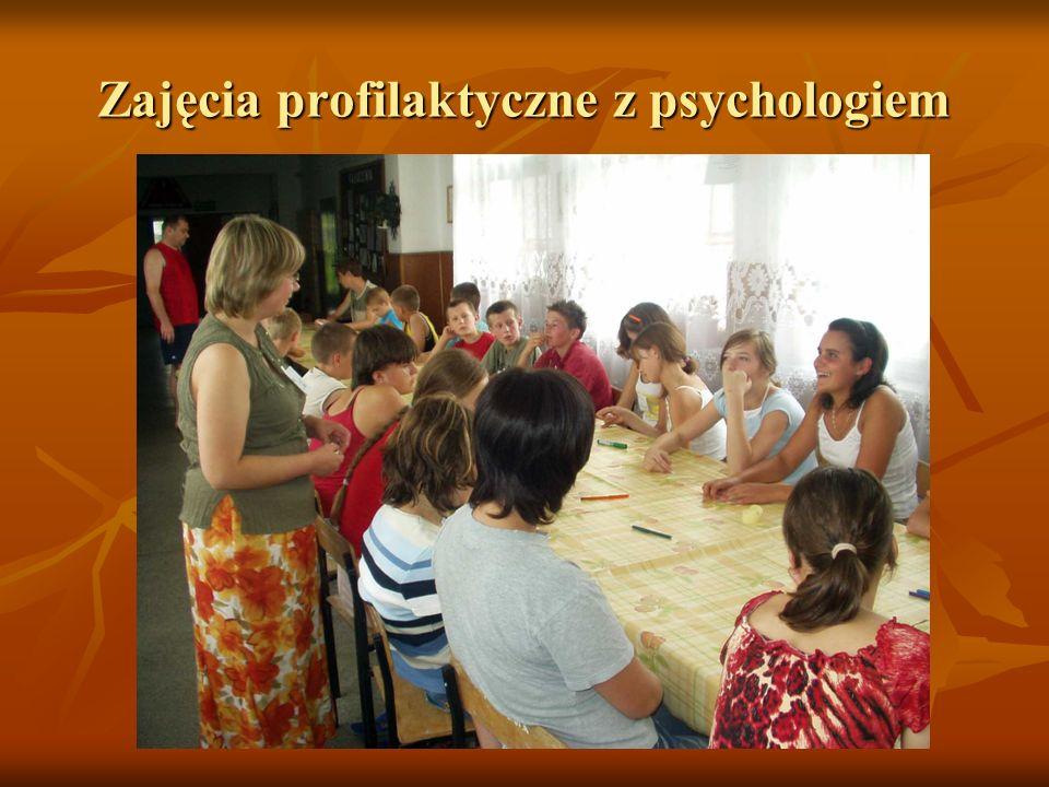 Zajęcia profilaktyczne z psychologiem