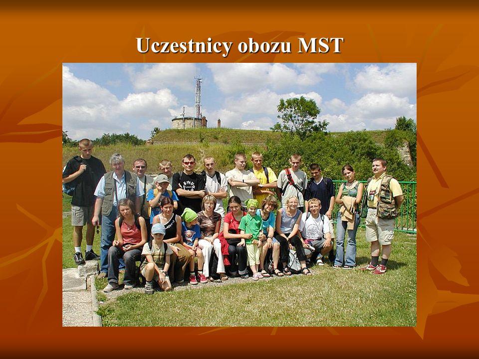 Uczestnicy obozu MST