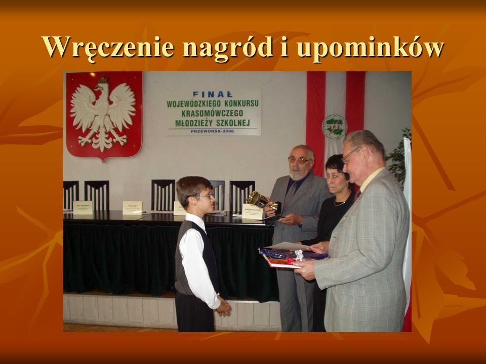 Wręczenie nagród i upominków
