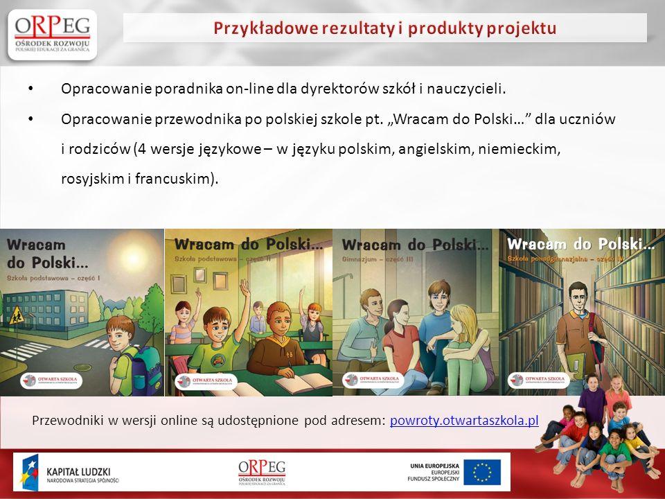 Opracowanie poradnika on-line dla dyrektorów szkół i nauczycieli.