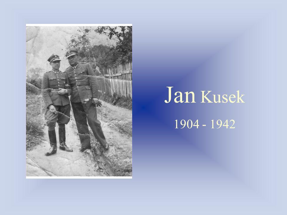 Jan Kusek 1904 - 1942