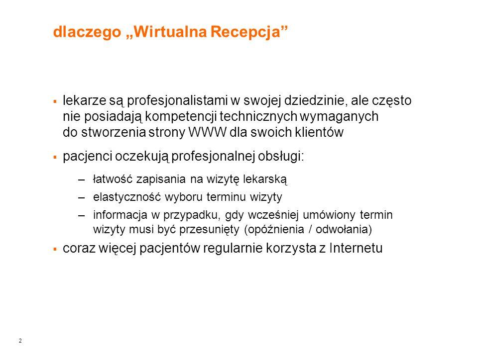 3 tytuł prezentacji Wirtualna Recepcja oczami pacjenta