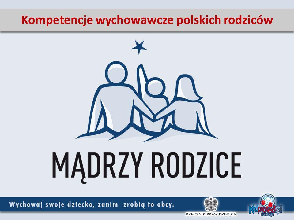 Badania – cel i metodologia Cele badania: Zbadanie poziomu umiejętności wychowawczych polskich rodziców Rodzaj badania Badania przeprowadzone przez MillwardBrown SMG/KRC na zamówienie Rzecznika Praw Dziecka oraz Fundacji Kidprotect.pl Badanie przeprowadzone za pomocą telefonicznych wywiadów ankieterskich w grudniu 2009 roku Charakter próby Ogólnopolska, losowa grupa dorosłych (powyżej 18 roku życia) Polaków, będących rodzicami dzieci w wieku do 18 roku życia.