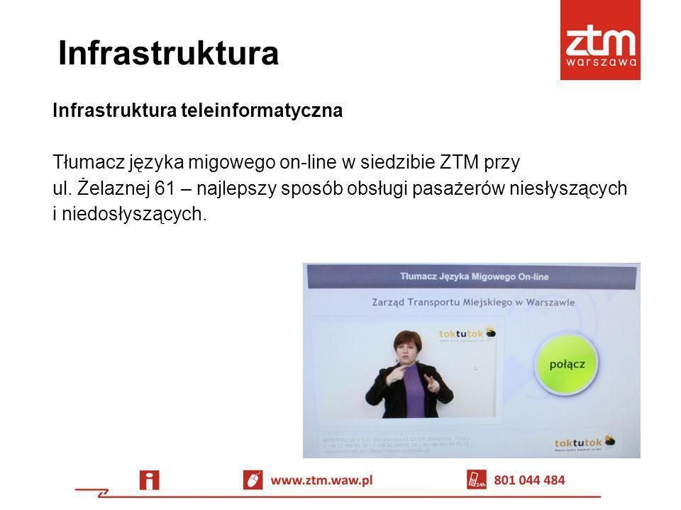 Infrastruktura Infrastruktura teleinformatyczna Tłumacz języka migowego on-line w siedzibie ZTM przy ul. Żelaznej 61 – najlepszy sposób obsługi pasaże