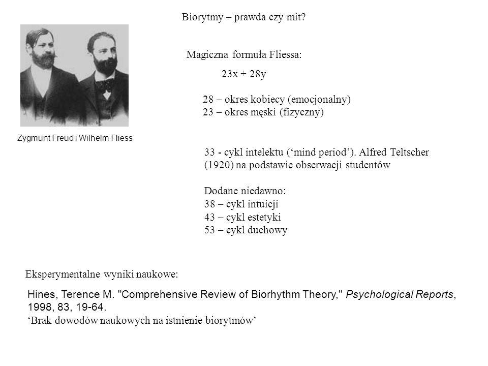 Biorytmy – prawda czy mit? Hines, Terence M.