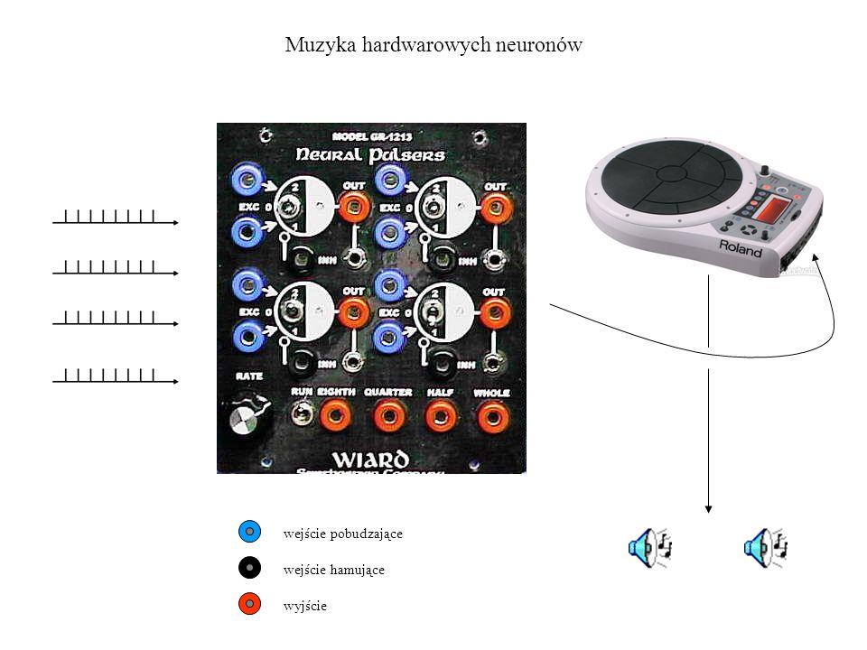 Muzyka hardwarowych neuronów wejście pobudzające wejście hamujące wyjście