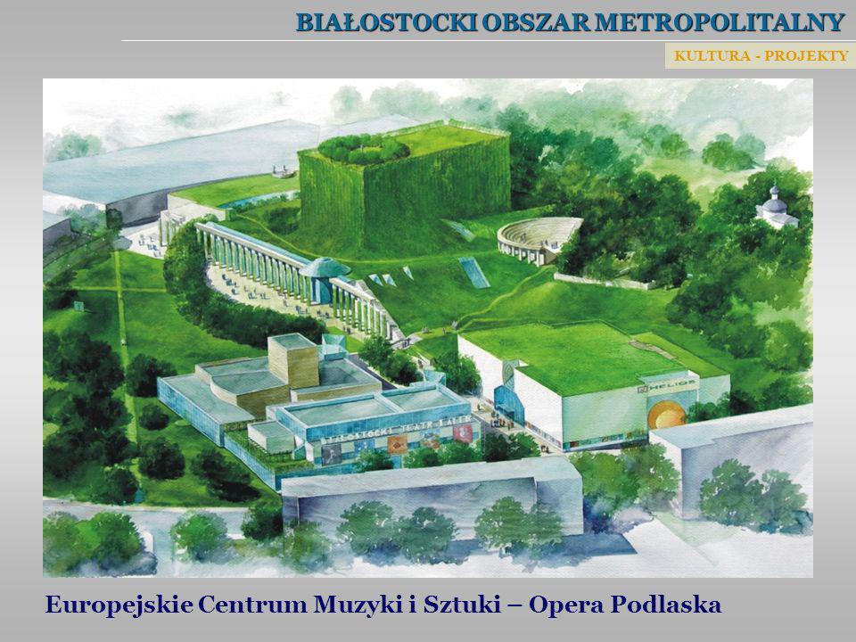 BIAŁOSTOCKI OBSZAR METROPOLITALNY Europejskie Centrum Muzyki i Sztuki – Opera Podlaska KULTURA - PROJEKTY