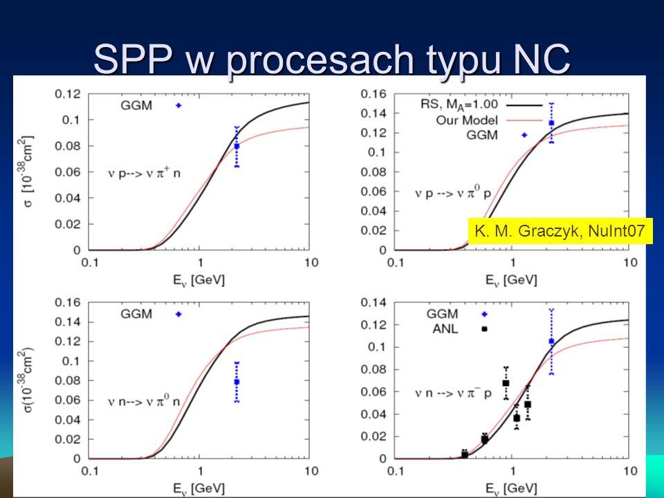SPP w procesach typu NC K. M. Graczyk, NuInt07