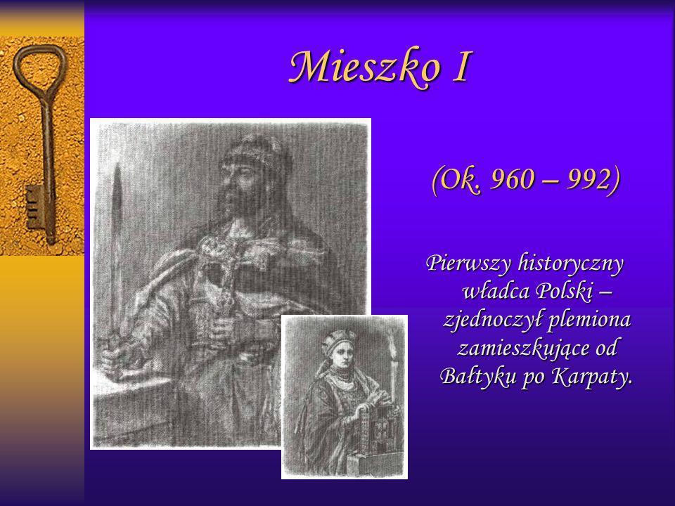 1093r.Władysław uznaje prawa Zbigniewa – swego syna z nieprawego łoża 1097r.