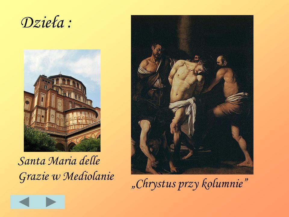 Dzieła : Santa Maria delle Grazie w Mediolanie Chrystus przy kolumnie