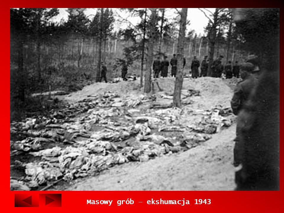 Masowy grób – ekshumacja 1943