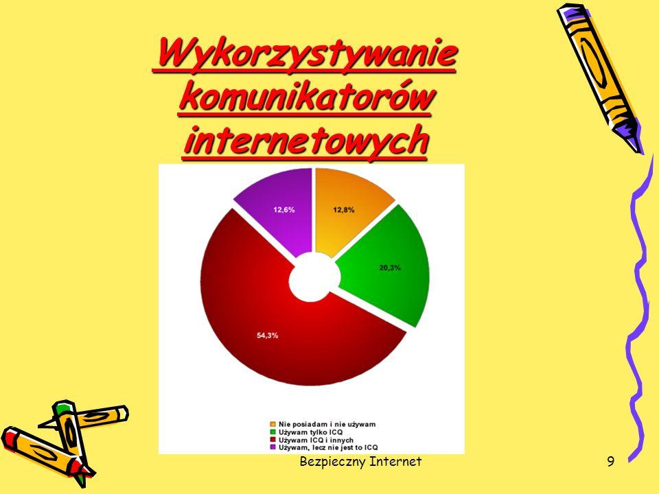 Bezpieczny Internet9 Wykorzystywanie komunikatorów internetowych