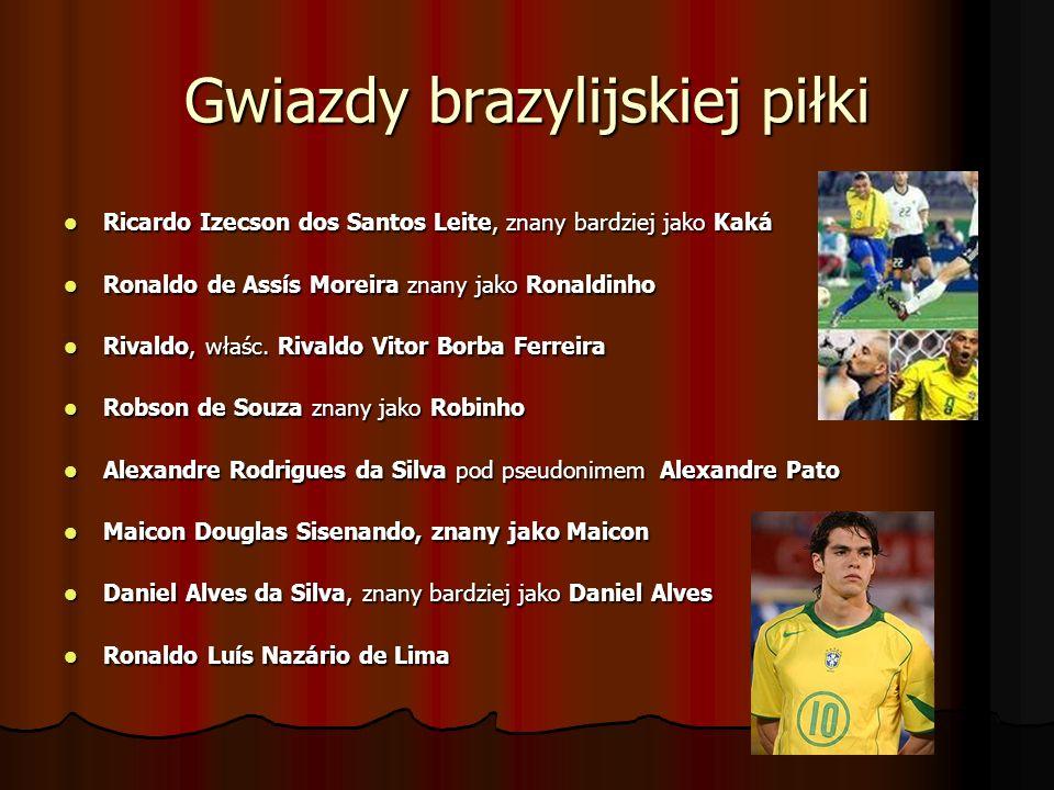 Gwiazdy brazylijskiej piłki Ricardo Izecson dos Santos Leite, znany bardziej jako Kaká Ricardo Izecson dos Santos Leite, znany bardziej jako Kaká Rona