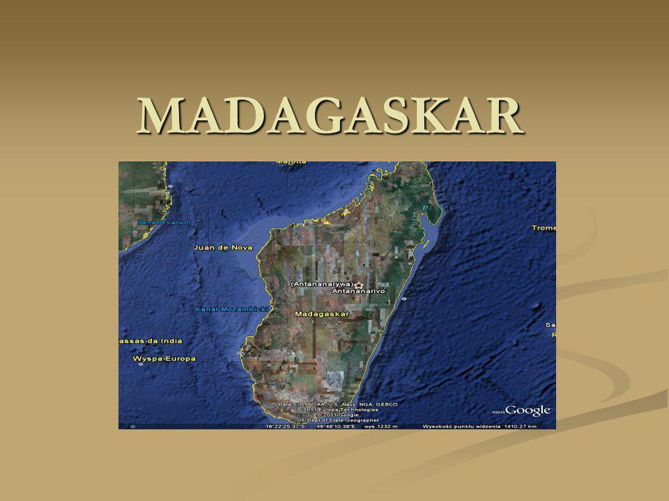 Madagaskar z powierzchnią 587 040 km² jest 46.
