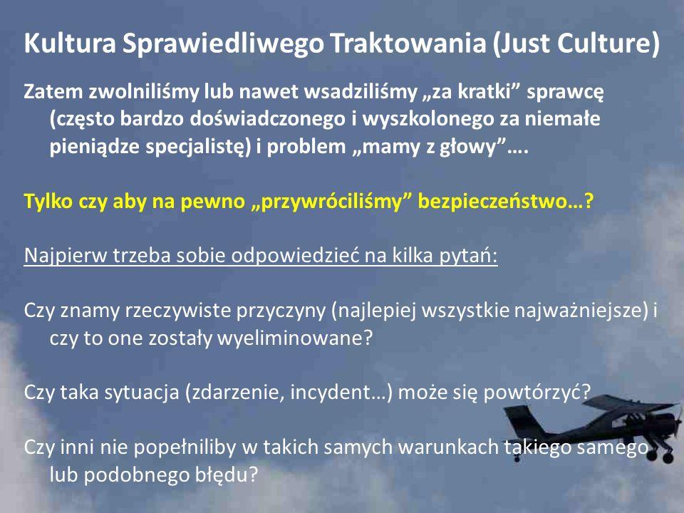 Kultura Sprawiedliwego Traktowania (Just Culture) Co to jest Kultura Sprawiedliwego Traktowania (Just Culture)?