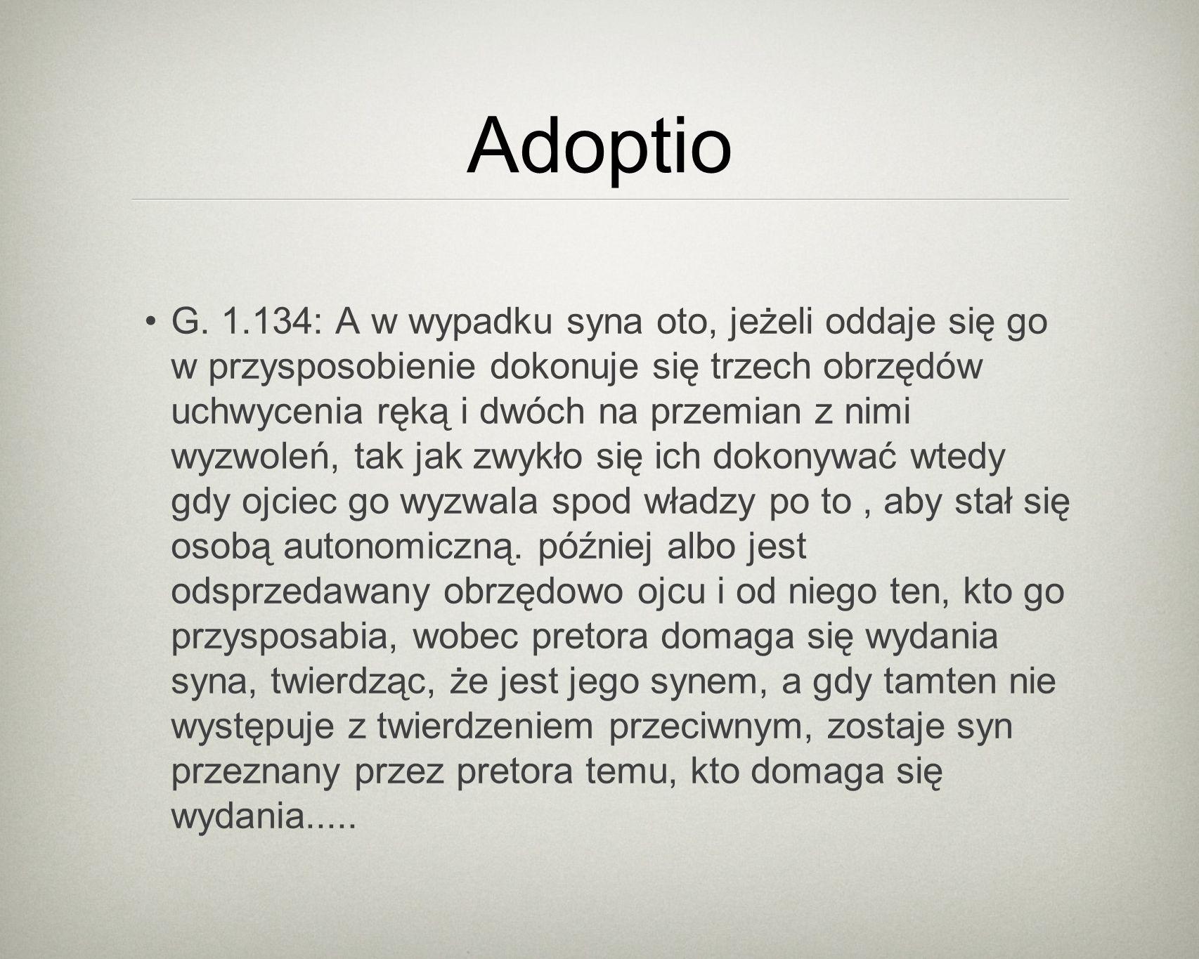 Adoptio G.
