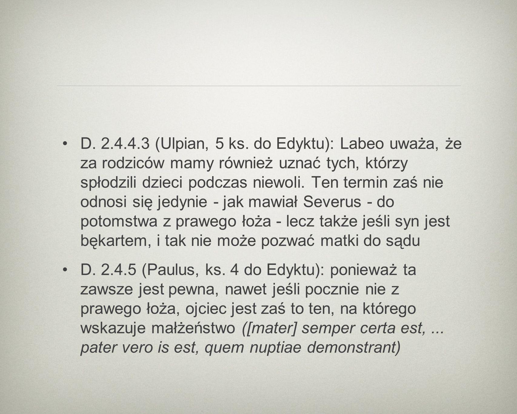 D. 2.4.4.3 (Ulpian, 5 ks.