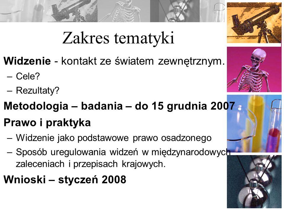 Prawo – ERW-2006 Istotą kary pozbawienia wolności jest pozbawienie wolności.