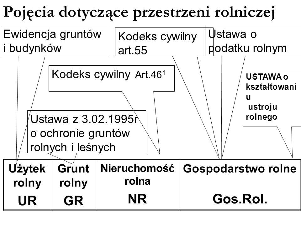 Użytek rolny UR Rodzaje w grupie UR RGrunty orne ŁŁąki PsPastwiska S/RSady B/RZabudowa zagrodowa WsrStawy rybackie WRowy melioracyjne Jedna z (7) grup użytków gruntowych wyodrębniona dla celów ewidencji gruntów