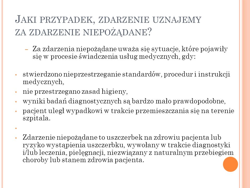 G DY ZACZYNALIŚMY – ROK 2006 1.wydanie obowiązującej procedury, 2.