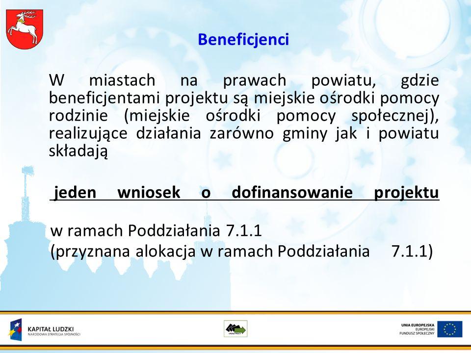 Dziękuję za uwagę ŻYCZĘ ZŁOŻENIA SAMYCH POPRAWNYCH WNIOSKÓW Aneta Wieprzowska Kierownik Oddziału Wdrażania Projektów Systemowych Priorytetu VII POKL (0 81) 46 35 371