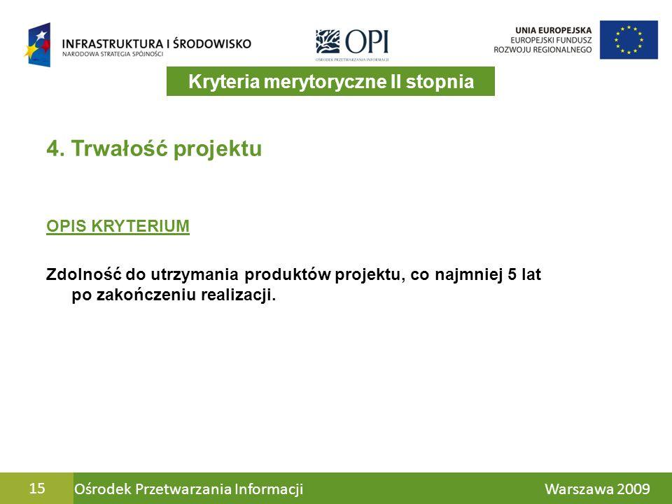 Ośrodek Przetwarzania Informacji Warszawa 200915 4.