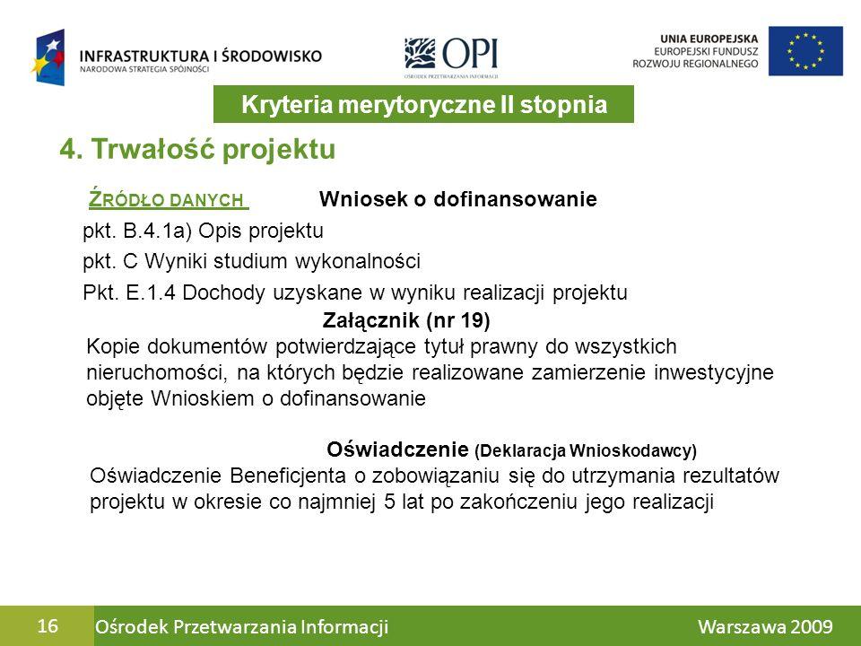 Ośrodek Przetwarzania Informacji Warszawa 200916 4.
