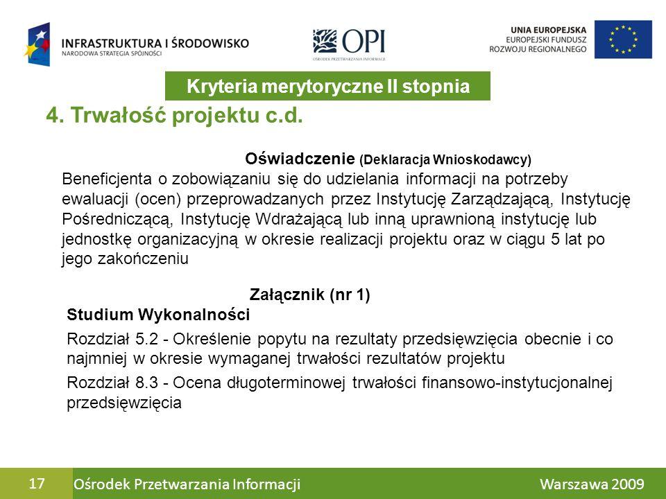 Ośrodek Przetwarzania Informacji Warszawa 200917 4.