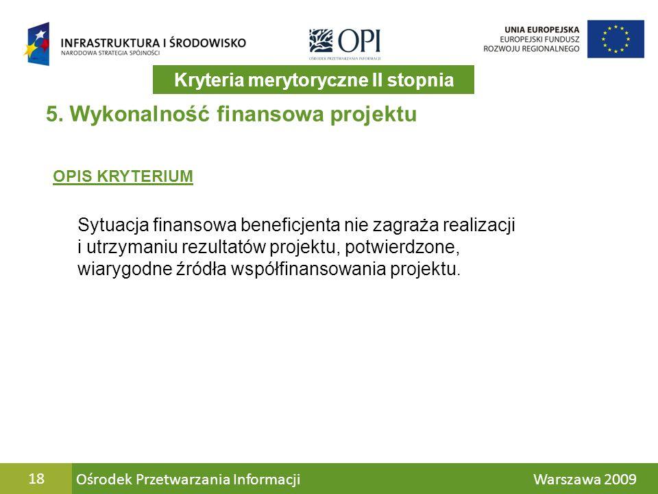 Ośrodek Przetwarzania Informacji Warszawa 200918 5.