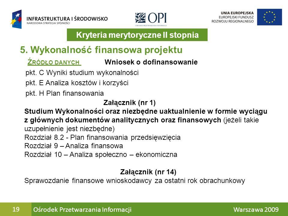 Ośrodek Przetwarzania Informacji Warszawa 200919 5.
